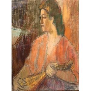 Zygmunt Landau (1898 Łódż - 1962 Tel Aviv), Kobieta z mandoliną