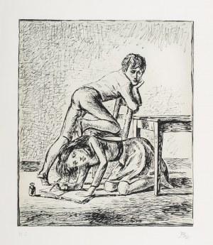 Balthasar Kłossowski de Rola (1908 Paryż - 2001 Rossinière), Przy stole