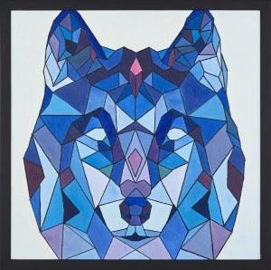 Monika Siwiec (Ur.1995), Geometryczny wilk, 2017