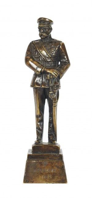 Feliks (Robak) Robakowski (1896 - 1980), Figurka Józefa Piłsudskiego, lata 30-te XX w.