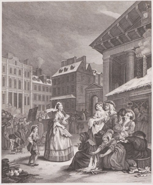 William Hogarth (1697 - 1764), Thomas Cook (ok. 1744-1818), Morning, 1797