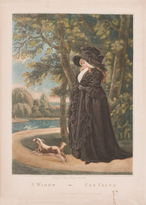 John Raphael Smith (1751 - 1812), A Widow - Une Veuve, 1791