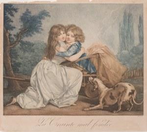 Louis Jean Allais (1762 - 1833), Siostrzana miłość, kon. XVIII w.