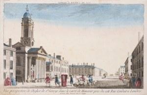 wyd. Basset, Widok na kościół św. Jerzego, XVIII w.