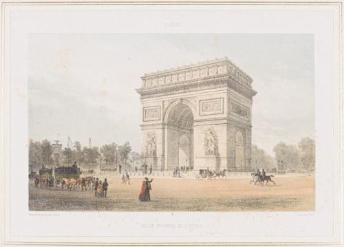 Jules Arnout (1814 - 1868), Łuk Triumfalny, Paryż, 1850 -1860