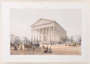 Jules Arnout (1814 - 1868), Kościół św. Magdaleny, Paryż, 1850 -1860