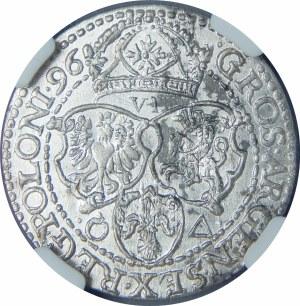 Zygmunt III Waza, Szóstak 1596, Malbork – mała głowa króla
