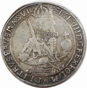 Zygmunt III Waza, Talar 1630, Bydgoszcz – wąskie popiersie – bez kokardy – NEG