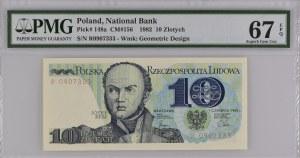 10 złotych 1982 - R 0907333