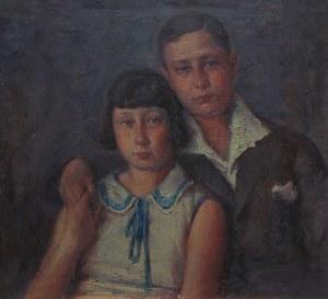 Józef Mitler(1895-po 1939), Rodzeństwo z Łodzi (1932)