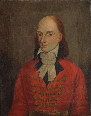 A.N.(XVIII w.), Portret męski