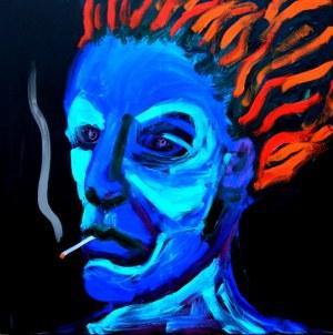 Paweł Zakrzewski, Burning man