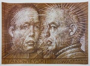 Franciszek STAROWIEYSKI (1930-2009) – projektant, Plakat do wystawy – Plakaty z kolekcji K. Dydo