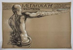 Franciszek STAROWIEYSKI (1930-2009) – projektant, Plakat – Metafora / Przestrzeń, 1978