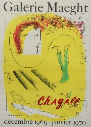Marc Chagall (1887-1985), Żółte tło - Plakat Galerie Maeght, 1967-1970