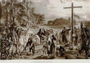 Jan Matejko (1838 - 1893), Zaprowadzenie chrześcijaństwa