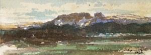 Tadeusz Rybkowski (1848-1926), Pejzaż z Zakopanego, 1906