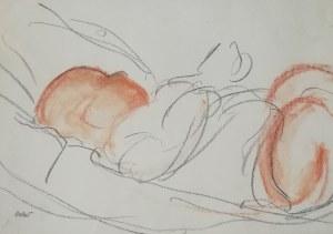 Wojciech Weiss (1875 - 1950), Śpiące dziecko