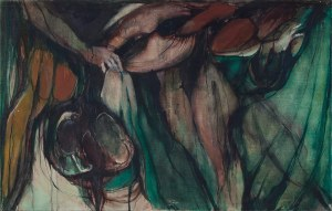 Krystyna GOLUS-MOŻEJKO (ur. 1936), Bez tytułu, 1968