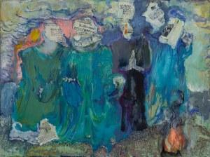 Krystyna GOLUS-MOŻEJKO (ur. 1936), Zaklinanie losu, 2017