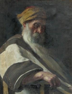 MN, Szkoła krakowska, XIX / XX w., Portret rabina