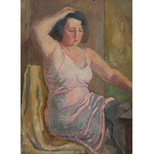 Leonard Pękalski (1896-1944), Portret p.Wandy P.