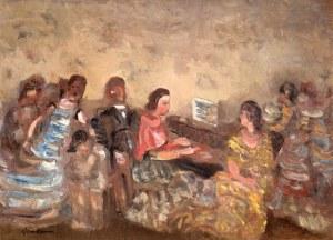 Alfred Aberdam (1894 Lwów – 1963 Paryż), Wokół fortepianu