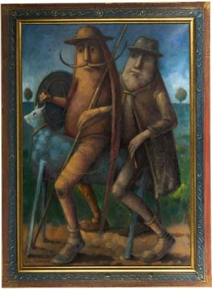 Dariusz Miliński (ur. 1957 r.), Don Kichot i Sancho Pansa, 2004 r.