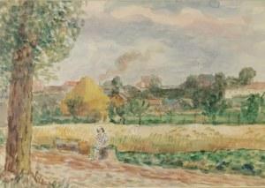 Leonard PĘKALSKI (1896-1944), W plenerze, lata 30. XX w.