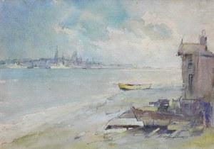 Marian Mokwa (1889 Malary - 1987 Sopot), Widok na Gdańsk