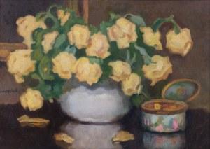 Alfons Karpiński (1875 Rozwadów - 1961 Kraków), Róże