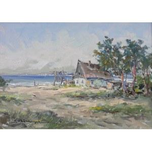 Eugeniusz Dzierzencki (1905 Warszawa - 1990 Sopot), Nad zatoką