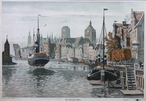 Bruno Bielefeld (1879 Blumenau-1973 Berlin), W gdańskim porcie