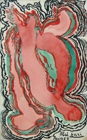 Helena Berlewi (1873-1976), Kompozycja, 1959 r.