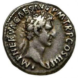 Roman Imperial, Nerva, Denarius