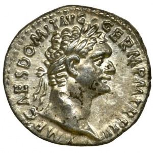 Roman Imperial, Domitian, Denarius