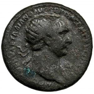 Roman Imperial, Trajan, Dupondius