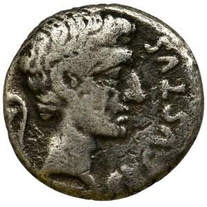 Roman Imperial, Octavian Augustus, Denarius