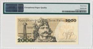 2.000 złotych 1979 - Z - PMG 67 EPQ