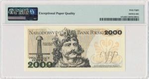 2.000 złotych 1982 - BP - PMG 68 EPQ - pierwsza seria rocznika