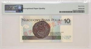 10 złotych 2012 - WZÓR Nr 500 - AA 0000000 - PMG 67 EPQ - piękny numer wzoru