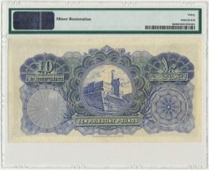 Palestine, 10 pounds 1944 - PMG 30