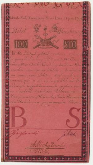 100 złotych 1794 - A - piękna prezencja