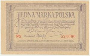 1 marka 1919 - PG -