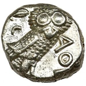 Grecja, Attyka, Ateny, Tetradrachma - Arabskie Naśladownictwo