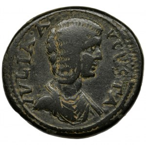 Rzym Prowincjonalny, Pisidia, Antiochia, Julia Domna, Brąz AE35 - BARDZO RZADKI