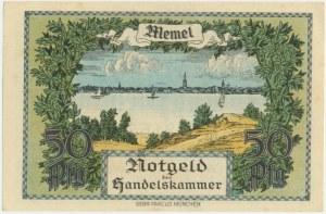 Meml, 1/2 mark 1922