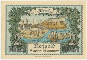 Memel, 2 mark 1922