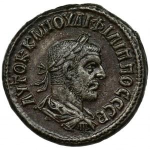 Rzym Prowincjonalny, Syria, Seleucja i Pieria, Antiochia, Filip I, Tetradrachma bilonowa - błąd CCB