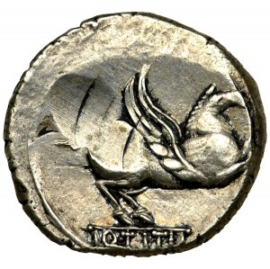 Roman Republic, Titius, Denarius